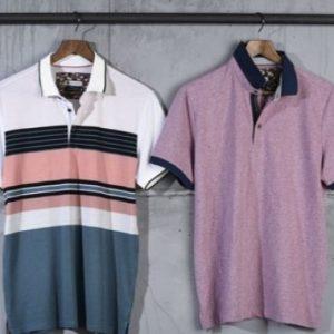 Polos y camisetas manga corta